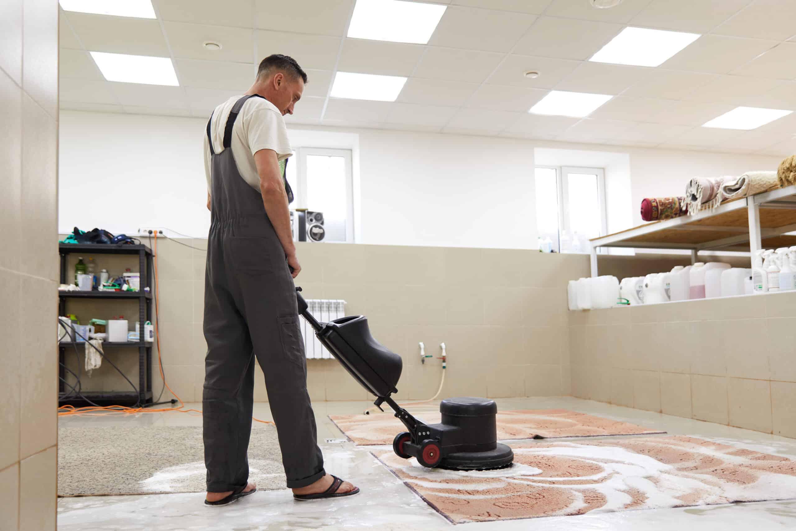 ניקוי שטיחים בבית
